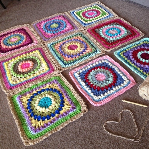 Crochet Tutorial Joining Squares : Flat Braid Join Tutorial - BabyLove Brand
