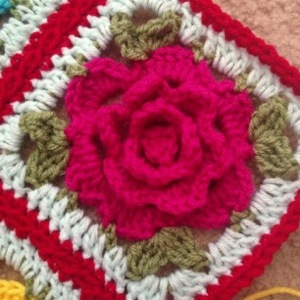 Babouska Rose Crochet