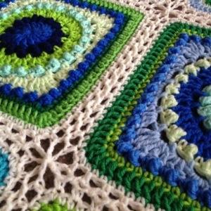 Textured Circles 8 Close-up