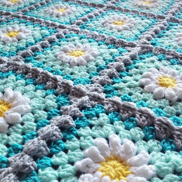 Square Blooms Texture