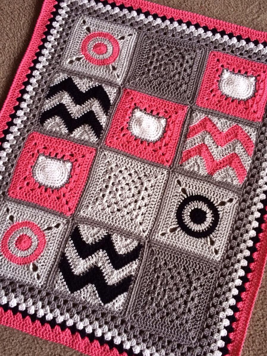 Modern Patchwork Blanket Pattern Cypress Textiles Gallery