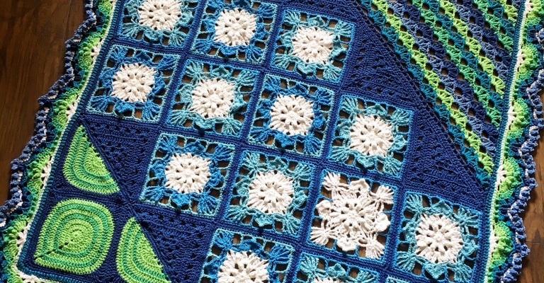 Lotus Leaf Crochet Blanket Babylove Brand